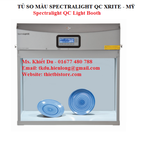 Tủ so màu Spectralight QC