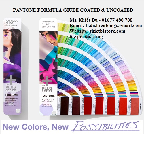 Pantone Formula Guide Coated & Uncoated GP1601N Tittle