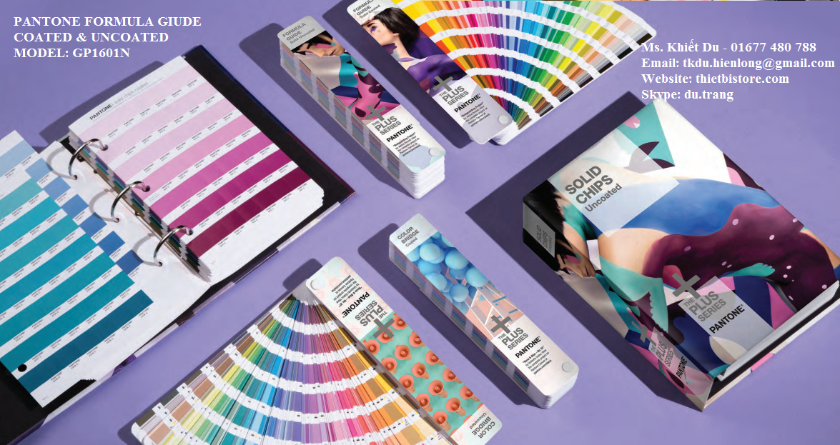Pantone Formula Guide Coated & Uncoated Mỹ